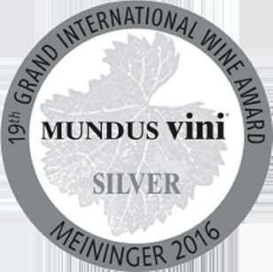 MUNDUS VINI SILVER 2016